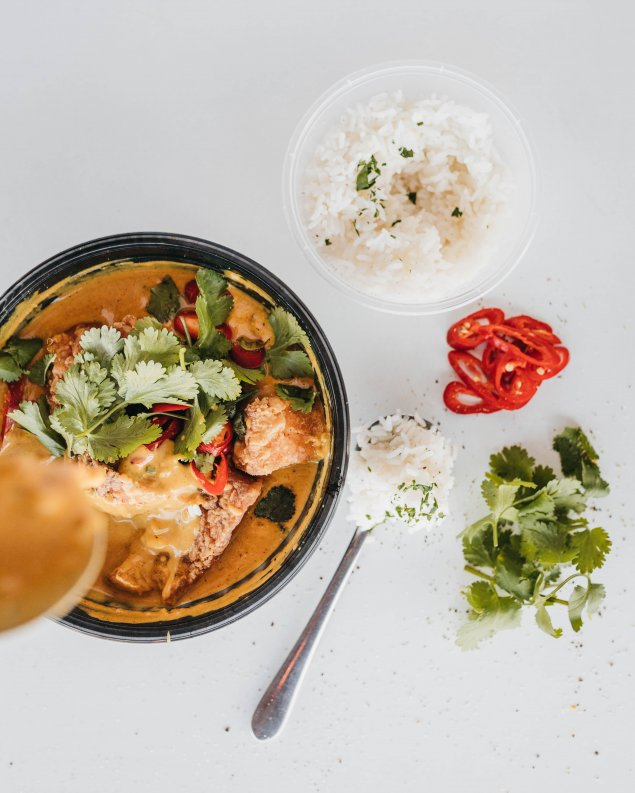 Fish Curry (cook at home)