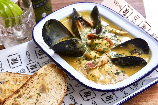 Seafood Chowder (cook at home)