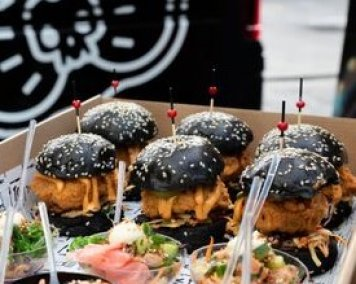 Burger Sliders (Fish/Beef/Veggie)
