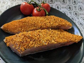 Moroccan Seasoned Barramundi Fillets (each)